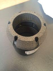 Diamant-biß bohrendes Gehäuse-Gefäß mit Oberflächen-gesetztem Rohrschuh für Bergbau
