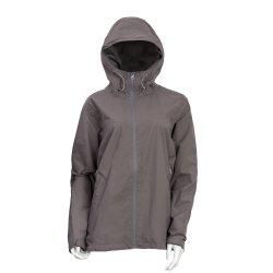 Women's Wr coupe-vent veste légère de randonnée manteau de pluie avec capot