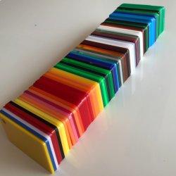 Преобладающего цвета акриловый лист пластика Plexiglass PMMA акриловый лист популярный продукт