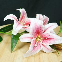 Décoration haut de gamme de l'Imitation de la soie artificielle Fleur de Lys