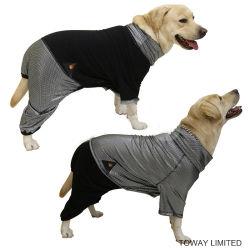Heatpaw反射可逆Rleeceの暖かい衣服大きい犬のジャンプスーツ