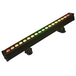 18X12W RGBWA UVwäsche-Dielen-Stab-Streifen-Licht des pixel-Steuerled lineares