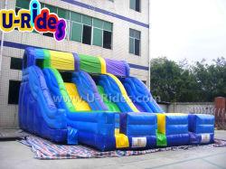 실내용 상업용 3선 팽창식 슬라이드 점프 슬라이드 야외