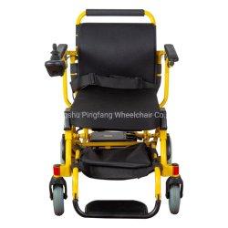 알루미늄 합금 리튬 건전지 세륨, ISO13485를 가진 여분 가벼운 힘 휠체어