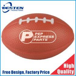 Hot Sale promotionnel ballon de rugby de PU Stress personnalisé