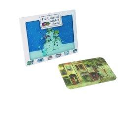 4mm épaisseur 5 mm en verre trempé planche à hacher