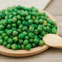 Die gebratenen gesalzten Imbisse würzten grüne Erbsen/grüne Bohnen/Kichererbsen/Saubohnen
