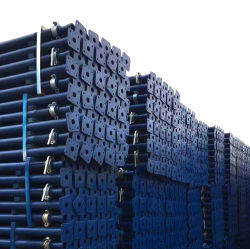 電気鋼鉄支注の支柱は鋼鉄ポストの海岸の足場支柱のAcroジャックの支柱の調節可能な鋼鉄足場直立物のプッシュプル支柱の足場に電流を通す