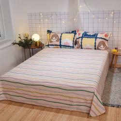 سعر جيد مريح 100% من القطن مزيج من الزهور للطباعة اللحاف مجموعة الغطاء أغطية السرير من القطن