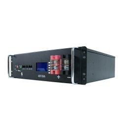 Rack 19 pouces 48V Communication La batterie de sauvegarde de station de base 10AH 1u système de stockage de l'énergie solaire de l'onduleur batterie
