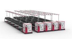 Racks de multicamadas móveis do sistema de cultivo de plantas