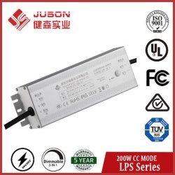 Juson Lps Série 200W o Condutor LED 27-54V IP65 Corrente Constante levou a fonte de alimentação
