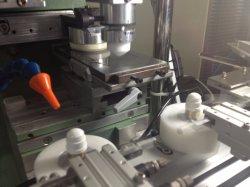 コンタクトレンズEnC125/1のための単一カラーInkcup Tampoプリントパッドの印字機