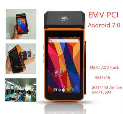 Портативное устройство Smart Android OS Mobile POS Talkable Intelligent POS машины с принтером TS-P20L