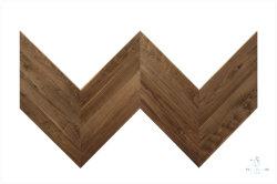 월넛 플랫 바닥, UV 래커, 쉐브론 디자인, 목재 바닥