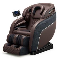 Última tecnología de pantalla táctil cubierta de la Silla de masaje sillón de masaje de cuerpo Masajeador de pie