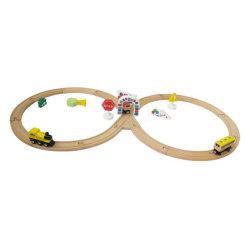 Детей деревянные игрушки железнодорожных поездов