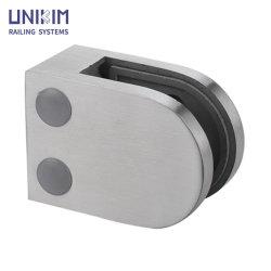 China Factory Venda por grosso de acessórios de aço inoxidável liga de zinco Vidro Corrimão do espigão de fixação com marcação CE