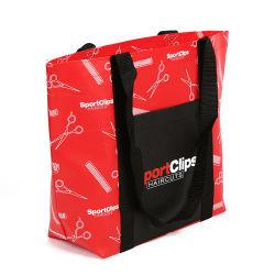 Nuovi sacchetti di acquisto impermeabili riutilizzabili tessuti pp dritti di vendita della maniglia di disegno speciale