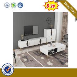 Glattes lebendes Haupthotel-moderne Möbel-Kaffee Talbe Fernsehapparat-Standplatz-Ausgangsmöbel