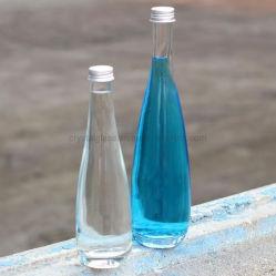 bottiglia di vetro della bevanda della radura di disegno del cono di 330ml 500ml che impacca con il coperchio di alluminio