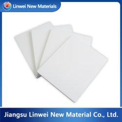 Resistente a altas temperaturas de color blanco puro 100% de la placa de moldeado de PTFE