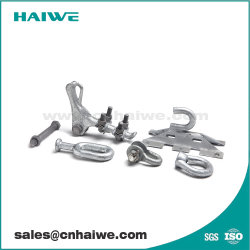 HDG Frais généraux de l'acier doux le raccord d'alimentation électrique de la ligne de transmission