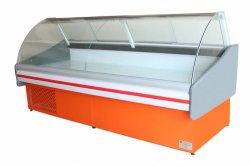 Супермаркет Deli дисплей холодильник морозильник