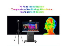 Sistema infrarosso in tempo reale dello scanner della macchina fotografica del toner termico dell'aeroporto