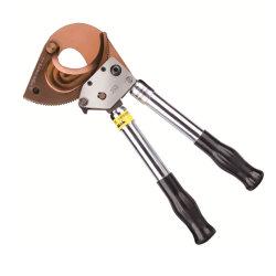 J52 Cu Al Cable Blindado de hasta 50 mm de diámetro Cortacables de trinquete