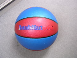 La promotion de cuir synthétique durable en PVC plastifié Ballon de basket-ball de sport