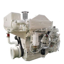 熱い販売200HP 155kw 6シリンダー海洋の手前側にあるディーゼルジェット機のボートの電気エンジン