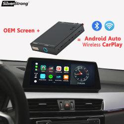 صندوق CarPlay اللاسلكي لـ BMW 1 Series E81 E87 E88 2008-2012 مع Android Auto Mirror Link Airplay Car Play الوظيفة