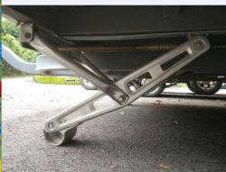 Caravan Car Jack queda de Reboque Perna Jack do estabilizador