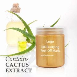 PERSONALISEER vertragingen veroudering Jojoba Seed Oil 24K Gold Brightening Face Gelei-masker