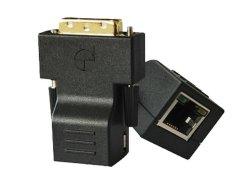 Mini Vergroting DVI over Enige Gebruiksklare Cat5e/6, tot 100m de Afstand van de Uitbreiding