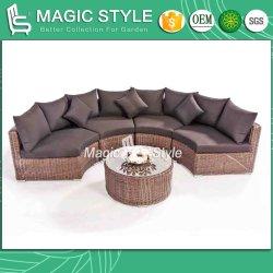 Toto Sofá Definir Combinação Sofá Jardim Sofá Definir sofá de vime exterior Wicker Sofá mobília do pátio (estilo mágico)