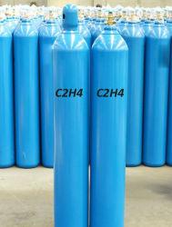 2020 Suministro de la fábrica de pureza del 99,95% de grado industrial C2H4 Gas Etileno con buen precio.