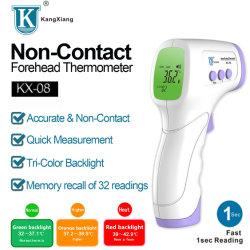비 접촉 의학 적외선 온도계 성숙한 아기 온도 측정 이마 전자총
