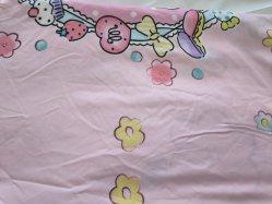 Preciosa Catoon la ropa de cama de patrón de la hoja de textil hogar
