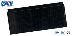 Tile V1.0 بقدرة 55 واط مع خلايا أحادية اللون Tile Solar مقاوم للمياه اللوحات الوحدات الشمسية-اللون الأسود أفقي