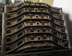 회색 철 주물 기술설계 연결 링크
