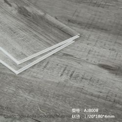 Мраморные дизайн / ламината деревянной цветной огнеупорные водонепроницаемый камня Композитный пластик / Spc Пол / самоклеящаяся виниловая пленка ПВХ плитками на полу