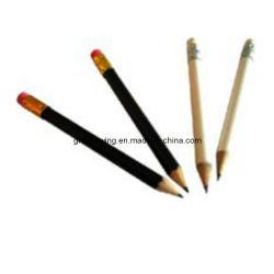 Hersteller-fördernder hölzerner Golf-Bleistift mit Spitzenradiergummi