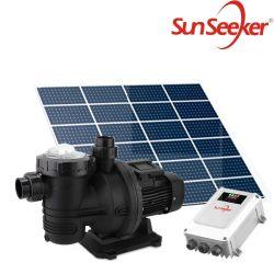 108V 1200W 27m3/H 19m 低価格ソーラーポンプリブストックおよび パネル /5HP ソーラープールポンプ、 4 インチボアケーシング