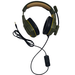USB verdrahteter Kopfhörer-Spiel-Kopfhörer mit Mikrofon-Computer-Spiel-Kopfhörern