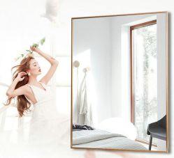 現代および簡単なアルミニウムフレームの浴室ミラー