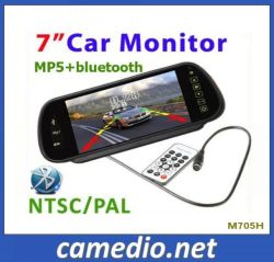 "7 "" USB/SD/MP5/Bluetooth M705hの車Rearview Mirror LCD Monitor"