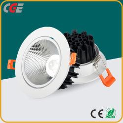 LED-PFEILER beleuchten unten Punkt-die Lichter LED der Downlight Deckenleuchte-7With9With12With15W LED LED-PFEILER Objektiv-Punkt-Licht PFEILER LED Licht für Einkaufszentrum unten beleuchtend
