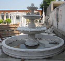 Le marbre Fontaine à eau pour la pierre fontaine de jardin (sy-F342)